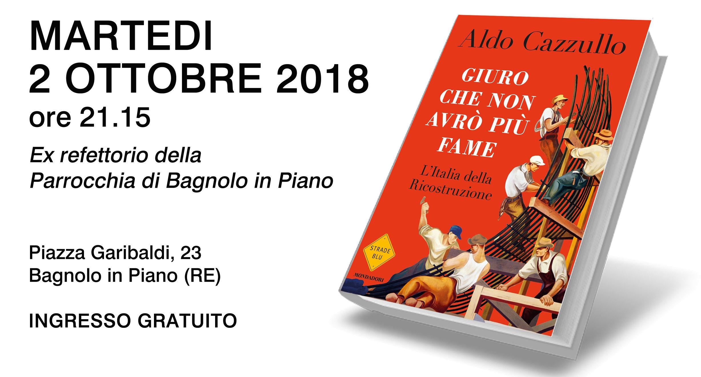 ... il Circolo Giovanni Paolo II promuove lapresentazione dell ultimo libro  di Aldo Cazzullo 26f90607665